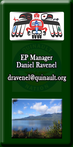 Quinault Division of Natural Resources Environmental Protection Manager Daniel Ravenel